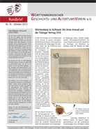 Rundbrief Oktober 2013